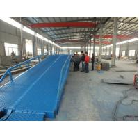 Wholesale Factory large loading and unloading good hydraulic mobile yard ramp from china suppliers
