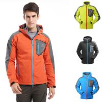 Wholesale Camping Trekking Waterproof Hiking Coat Multiple Colors Zipper Closure Warm from china suppliers