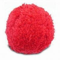 Wholesale Pom-pom/Wool Ball with 6 Bright Colors, Available in 75 and 100mm Sizes from china suppliers