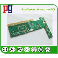 Wholesale HASL Surface Finishing Single Sided Printed Circuit Board With Gold Finger Plating from china suppliers