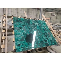 Wholesale Natural Green Terrazzo Marble Table Top terrazzo kitchen countertops from china suppliers