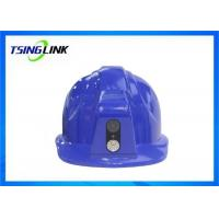 Wholesale Custom Logo 4G Wireless Device Safety Helmet With Bluetooth GPS 4G Camera Construction Power Patrol from china suppliers
