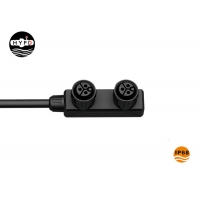 Buy cheap IP68 3 Pin 1 In 2 Out RoHS Compliance M19 Connector from wholesalers