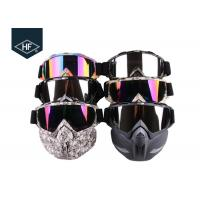 Wholesale Motorcycle Riding Accessories Anti Fog Ski Goggles  , TPU Frame Motorcycle Riding Glasses from china suppliers