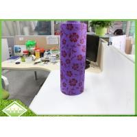 Wholesale 100% Virgin PP Printed Non Woven Fabric Cloth Roll For Table Cloths / Bags from china suppliers