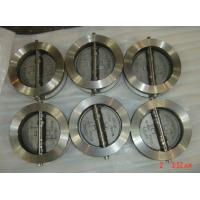 Wholesale Reliable sealed Stainless Steel Wafer Check Valve with NBR / EPDM / VITON seat from china suppliers