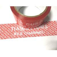 Wholesale Multifunction Tamper Seal Tape With Environmental Protection Material Foe Packing Valued from china suppliers