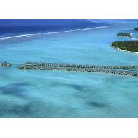 Wholesale Belize / Maldives Overwater Bungalow With Light Steel , Over The Water Bungalows from china suppliers