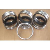 Concrete pump pipe flange