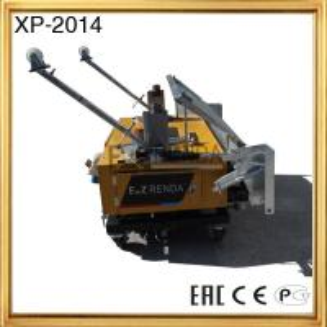 China 0.75KW Gypsum Plaster Machine Single Phase with Hydraulic System on sale