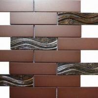 Wholesale Glass Tiles/Mosaic with Alkali-, Acid- and Heat-resistant, Suitable for Inner Decoration from china suppliers