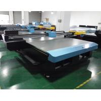 China Multi Color UV Inkjet Printers , Automatic Continuous Ink Card Printing Machines on sale