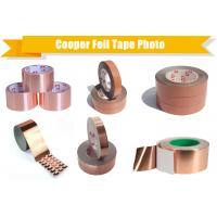 Wholesale conductive copper foil adhesive tape for EMI shielding, free sample to test from china suppliers
