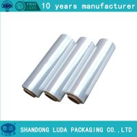 Quality Factory direct PE cling wrap film pallet wrapping special adhesive good ductility for sale