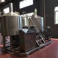 Wholesale Turnkey Brewery Equipment 3 Vessel Brewhouse SS Brewing Equipment 20Bbl from china suppliers