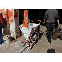 China 4HP Cement Mortar Plastering Machine Smooth Surface Finishing Without Delay on sale