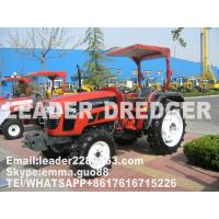 Wholesale Garden tractor with general tread for sale Good farm equipment with red colour from china suppliers