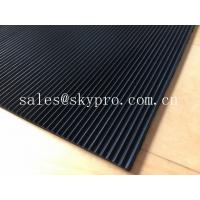 Wholesale Flooring / gasket thick 3mm rubber matting , black rubber floor mats from china suppliers
