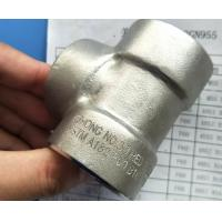 Wholesale Duplex Steel Forged Fitting ASTM A182 F60 S32205 Concentric Swage 45°/ 90° ELBOW NIPPLE TEE MSS SP-95 ASME B16.11 from china suppliers