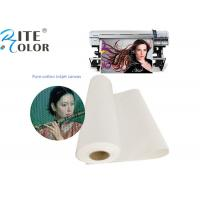 Wholesale Waterproof 100% Pure Cotton Art Canvas Inkjet Paper For Printing Media from china suppliers