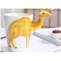 Wholesale Restaurant 9cmx11cm 450ml Camel Shaped Mug from china suppliers