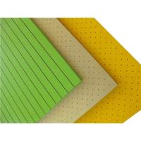 Wholesale High Absorption Perforated Wood Acoustic Panels Wood Fiber Acoustic Board from china suppliers