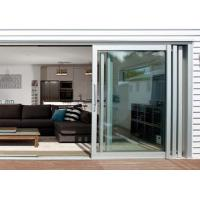 Wholesale Commercial Aluminium Doors Stacking Sliding Glass Doors With Top Brand Accessory from china suppliers