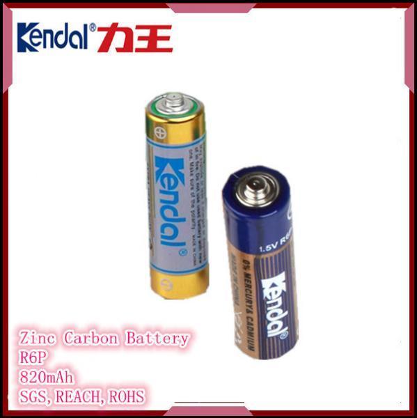 Zinc Carbon Battery : R p aa zinc carbon battery of item