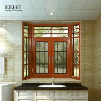 Multi - Colors Aluminum Casement Windows For Home Flanged Sash Profile