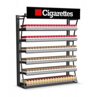 Wholesale Durable Cigarette Pusher Pack Display Rack , Wall Mount Tobacco Display Rack from china suppliers