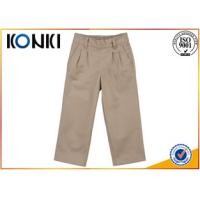 Wholesale Cotton Material Boys Grey School Trousers Customised Uniforms from china suppliers