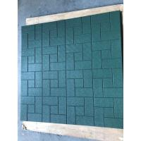 Wholesale Environment Friendly Rubber Playground Tiles Acid And Alkali Resistance from china suppliers