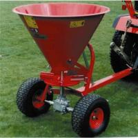 Wholesale atv tow behind grass seed spreader from china suppliers