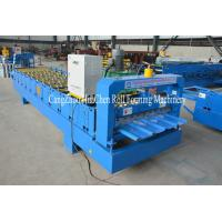 20m / Min High Capacity Roofing Sheet Roll Forming Machine For Plant Manufactures
