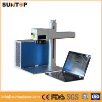 Wholesale Rotary rotating cnc laser marking machine flexible easy to operate from china suppliers