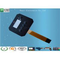 China Customized FPC Circuit Touch Screen Membrane Panel Switch 0.18 mm PET / PC Overlay on sale