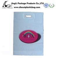 Wholesale Merchandise Printed seal Patch Handle Bags LDPE Promotional Plastic Bags from china suppliers
