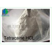 Buy cheap 99% Tetracaine HCl CAS 136-47-0 Pharmaceutical Intermediates Anesthetic Pain from wholesalers