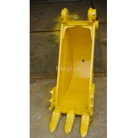 Wholesale Yellow Color Construction Machine Mini Ditching Bucket For Excavator 0.3m3 Capacity from china suppliers