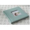 Beautiful Pregnancy / Kids Cyan Cloth Covered Flush Mount Album 14x10 Manufactures