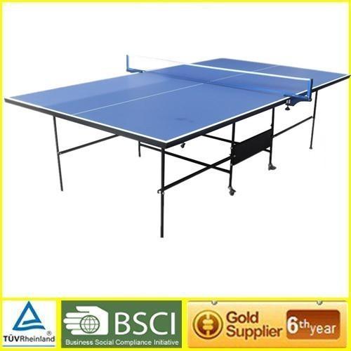 Oem mdf indoor training table tennis table double - Folding table tennis tables for sale ...