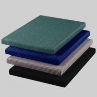 Wholesale Green / Blue Acoustic Fabric Panels for Auditorium Decorative 25mm Thickness from china suppliers