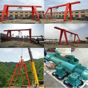 MH type electric hoist gantry crane, 5 tons of 10 tons of single-girder gantry crane manufacturers