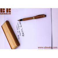 Wholesale wooden pen with box custom engraving printing logo advertising promotional gift 145cm*11cm from china suppliers