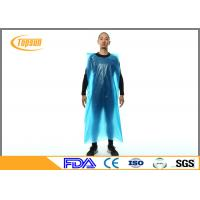 Wholesale Disposable Plastic Aprons With Sleeves , Plastic Kitchen Aprons Custmozied Logo from china suppliers