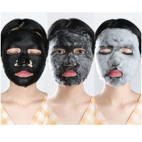 Wholesale Clear Pores Mud Face Mask Dense Delicate Bubbles With Bamboo Charcoal Film Cloth from china suppliers
