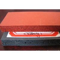 Buy cheap silicone sponge rubber sheet from wholesalers