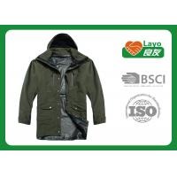 Wholesale Outdoor Fleece Hunting Jacket , Waterproof Shooting Jacket L-007 from china suppliers