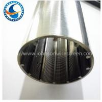 Wholesale 250 Micron Johnson Stainless Steel Screen With ISO / CIQ / SGS / CE Certificate from china suppliers