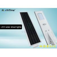 Wholesale Bridgelux LED 40 W Motion Sensor Street Lights With 4 Days Back Up Battery 4700 - 4800LM from china suppliers
